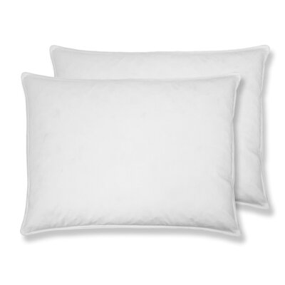 Hotel Goose Feather Pillow Size: 20 x 36
