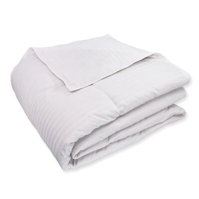 Luxe�All Season Down Comforter Size: King