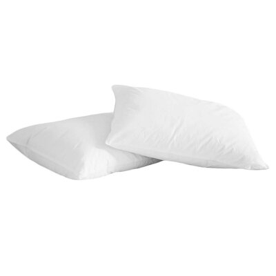 Natural Duck Feather Memory Foam Jumbo Pillow