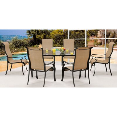 Elmar 7 Piece Rectangular Dining Set