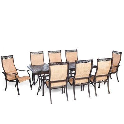 Barras 9 Piece Outdoor Dining Set