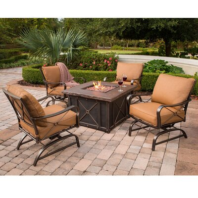 Classic 5 Piece Deep Seating Group with Cushion