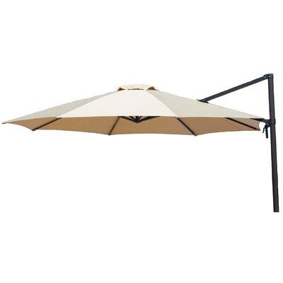 11 Barris Cantilever Umbrella Color: Tan