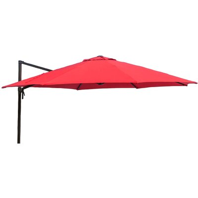 11 Barris Cantilever Umbrella Color: Red