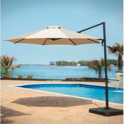 11 Cantilever Umbrella Color: Tan