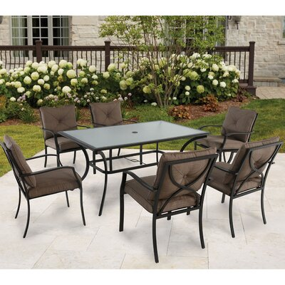 Keensburg 7 Piece Dining Set