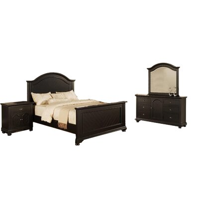 Willamstown 3 Piece Platform 3 Piece Bedroom Set Size: King