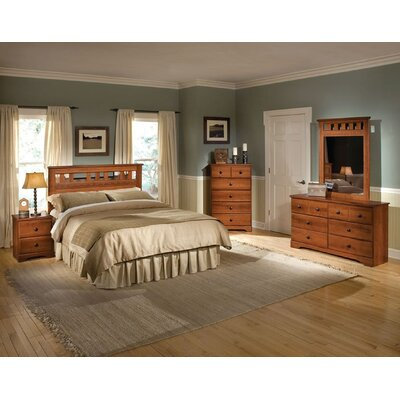 Suffield Queen Platform 5 Piece Bedroom Set