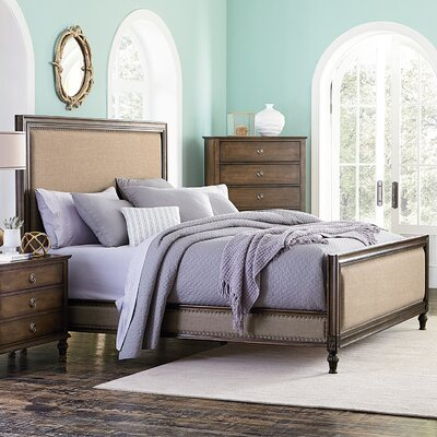 Donathon King Upholstered Platform Bed Frame