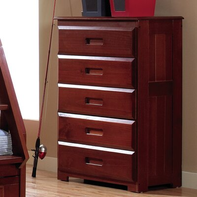 Edmond Traditional 5 Drawer Chest