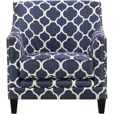 Lavergne Armchair Finish: Navy