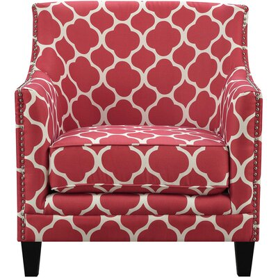 Lavergne Armchair Finish: Red