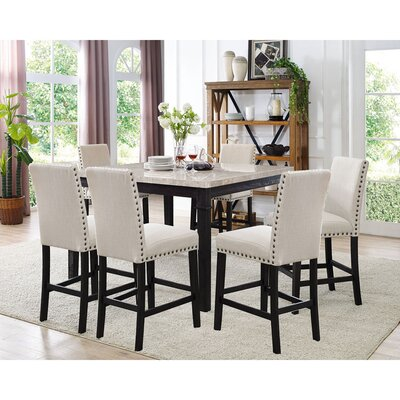 Irena 7 Piece Dining Set