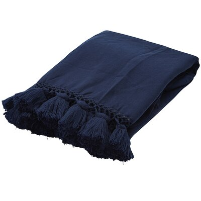 Seaport Throw Color: Navy