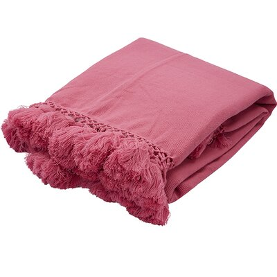Seaport Throw Color: Dark Pink