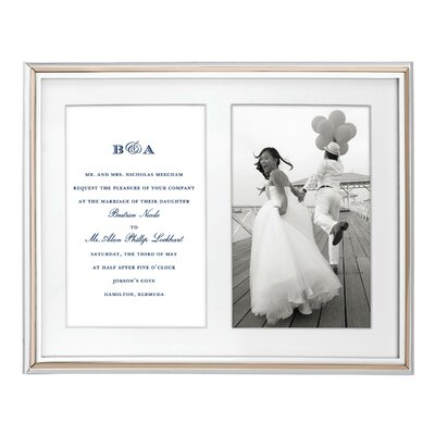Rosy Glow Double Invitation Picture Frame 852077