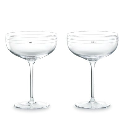 Darling Point Champagne Saucer Pair 808066