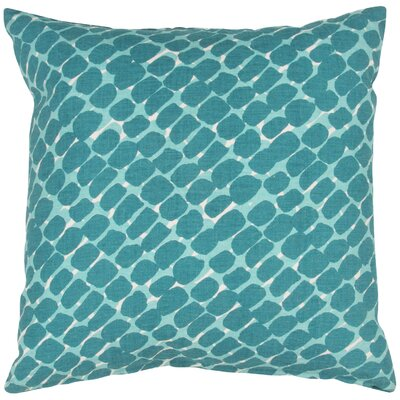Dobbins Throw Pillow Color: Blue