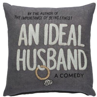 An Ideal Husband Throw Pillow