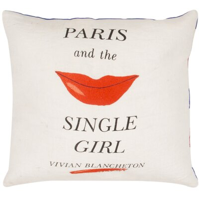 Paris and the Single Girl Throw Pillow