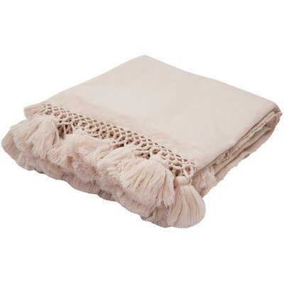 Seaport Throw Color: Baby Pink