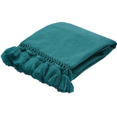 Seaport Throw Color: Blue