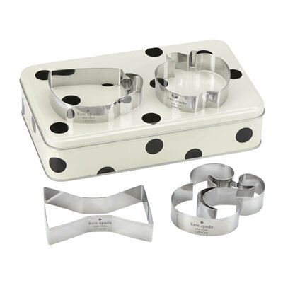 All in Good Taste Storage Tin with Cookie Cutters