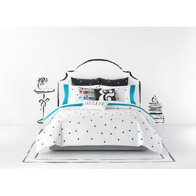 Deco Dot Duvet Cover Size: King