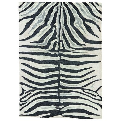 Murray Zebra Stripe by kate spade new york Rug Size: Rectangle 9 x 12