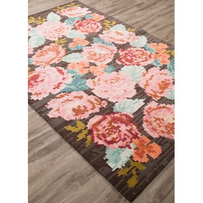 Murray Needlepoint Rose by kate spade new york Rug Size: Rectangle 5 x 8