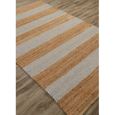 Nolita Hand-Woven Seaside Stripe by Kate Spade New York Rug Size: Rectangle 4 x 6