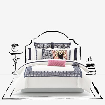 Folk Art Duvet Size: Full/Queen
