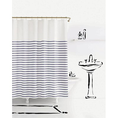 Charlotte Street Shower Curtain