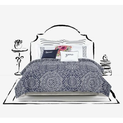 Eyelet Duvet Cover Size: Full/Queen