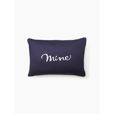 Eyelet Mine Lumbar Pillow