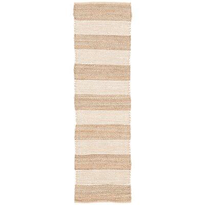 Nolita Hand-Woven Seaside Stripe by Kate Spade New York Rug Size: Runner 26 x 9