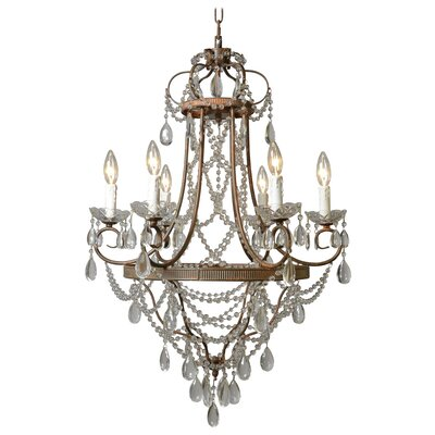 Equipoise 6-Light Crystal Chandelier