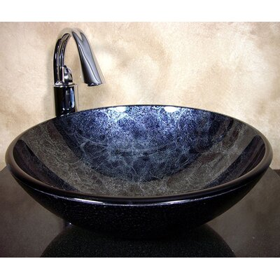 Zermatt Circular Vessel Bathroom Sink