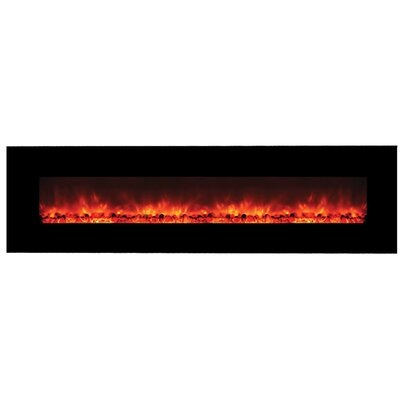 Dedrick Wall Mounted Electric Fireplace ORNL2622 45462097