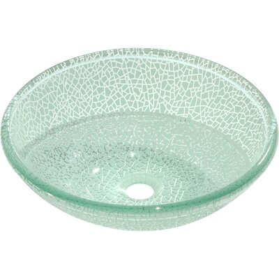 Ardennes Glass Circular Vessel Bathroom Sink