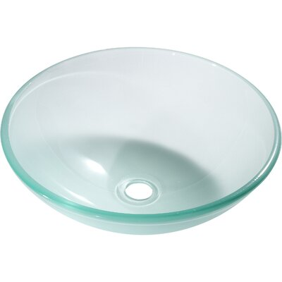 Argonne Circular Vessel Bathroom Sink