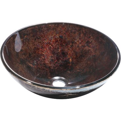 Charpenter Glass Circular Vessel Bathroom Sink