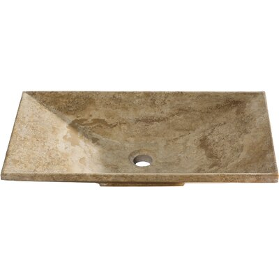 Vicki Rectangular Vessel Bathroom Sink