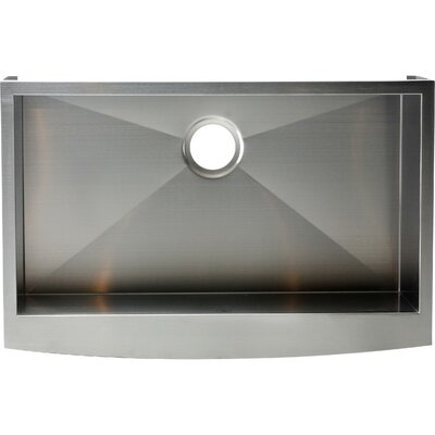 Hardy 10 x 32 Single Bowl Kitchen Sink