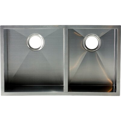 Hardy 10 x 32 Double Bowl Kitchen Sink