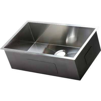 Hardy 30 x 18 Single Bowl Undermount Kitchen Sink