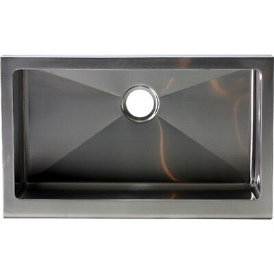 Hardy 10 x 33 Single Bowl Kitchen Sink