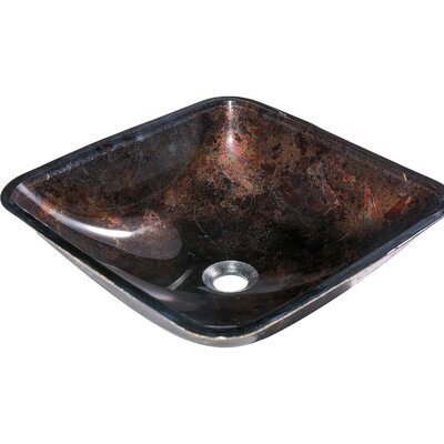 La Caleche Specialty Glass Specialty Vessel Bathroom Sink