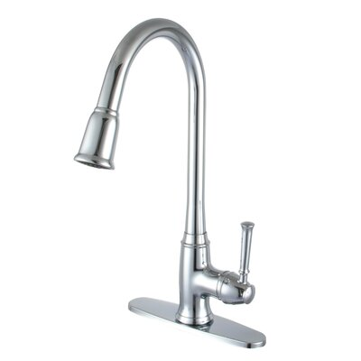 Madison Pull Out Single Handle Kitchen Faucet