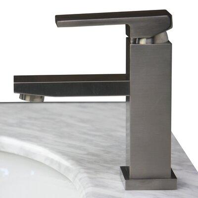 Dana Lavatory Faucet Single Handle Finish: Brushed Nickel
